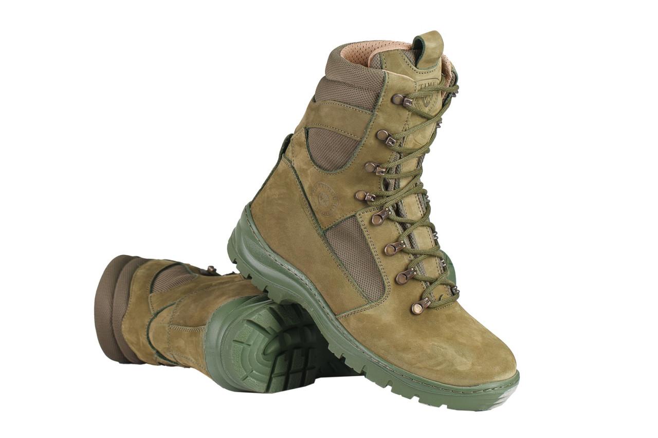 Берцы зимние / военная, тактическая обувь GROZA (olive)