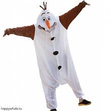Кигуруми снеговик