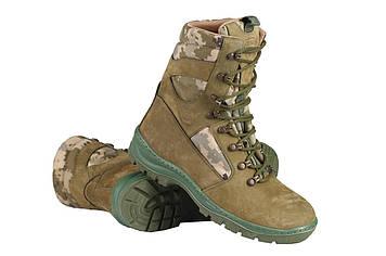 Берці зимові / військова тактична взуття GROZA ММ14 (оливковий)