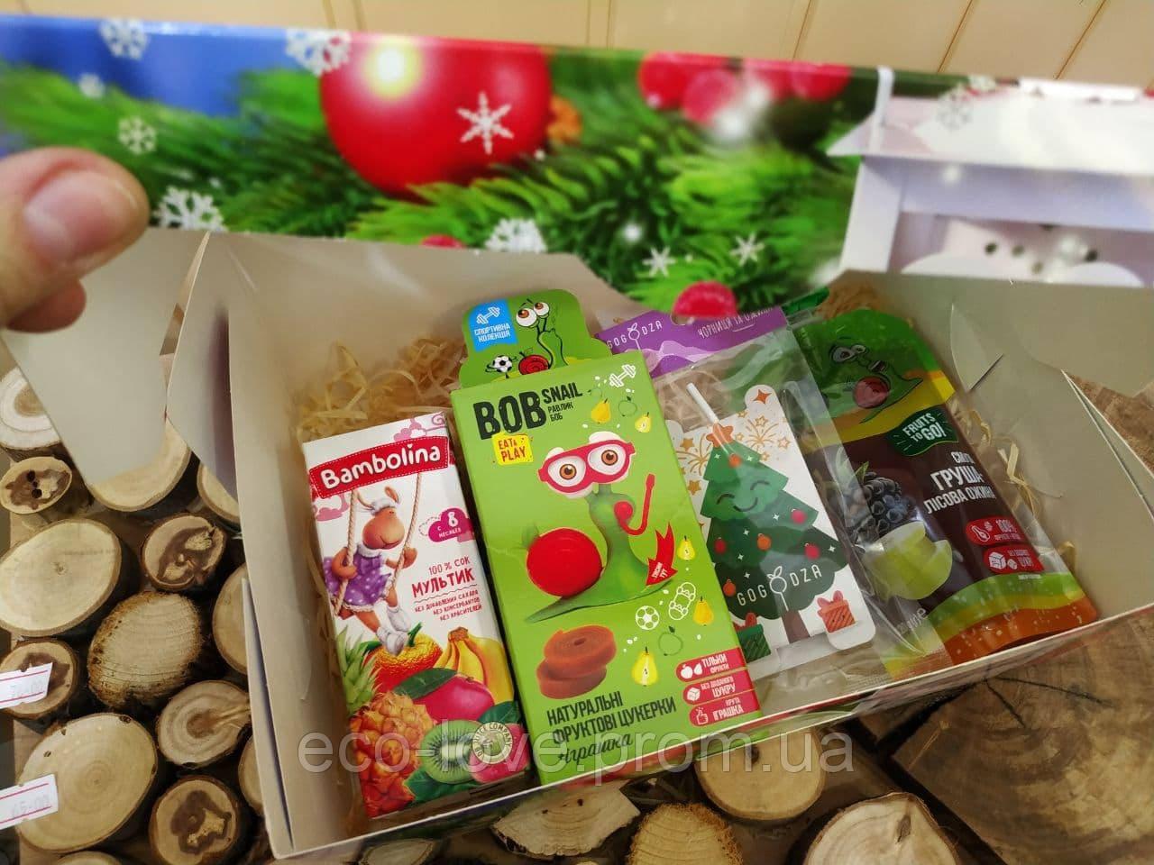 Подарунковий набір солодощів без ЦУКРУ