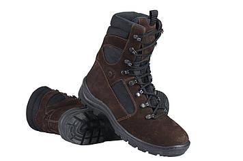 Берці зимові / військова тактична взуття GROZA (шоколад)