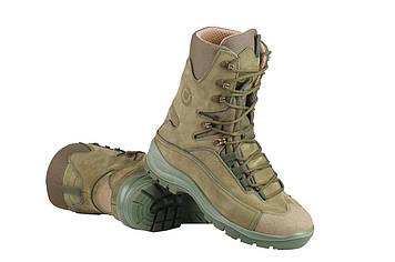 Берці зимові / військова тактична взуття GROM (olive)