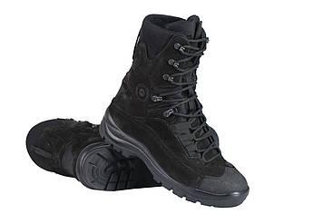 Берці зимові / військова тактична взуття GROM (чорний)