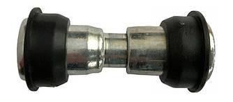 Втулка задня Quando (чорна), алюмінієва, на 36 спиць