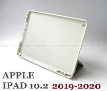 Розумний чохол софт-тач для Apple Ipad 7 10.2 / Ipad 8 2020 сірий з нішею для стилуса