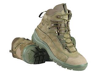 Военные зимние ботинки / армейская тактическая обувь GROM (olive)