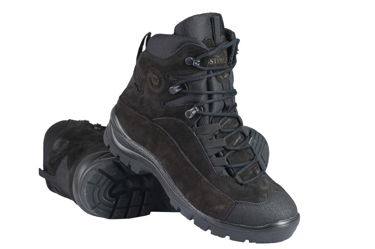 Тактические ботинки / армейская демисезонная военная обувь GROM (черный)