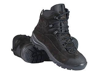 Военные зимние ботинки / армейская тактическая обувь GROM (black)