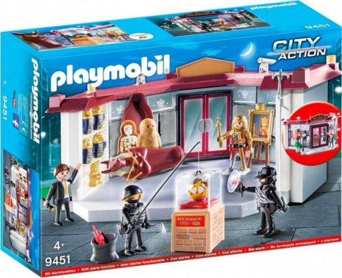 Игровой набор Playmobil Ограбление музея (9451)