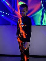 Детский светящийся  костюм унисекс Brawl Stars Ворон +маска в подарок, фото 1