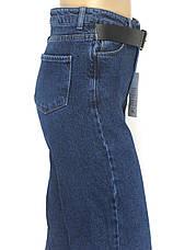 Жіночі розклішоні джинси труби Pozitif jeans 100% cotton, фото 3