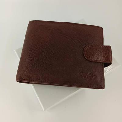 Кожаный мужской кошелек портмоне двойного сложения Balisa B88-409.