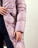 Тёплая зимняя куртка с натуральным мехом, фото 5