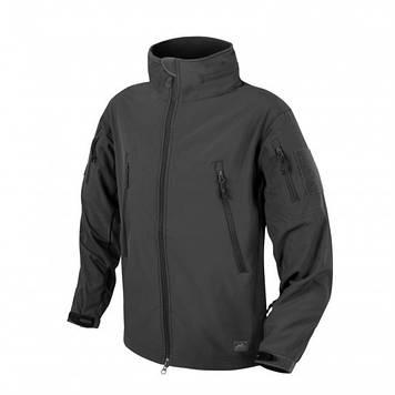 Демисезонная тактическая куртка Helikon-Tex® GUNFIGHTER Windblocker® Soft Shell (черная)