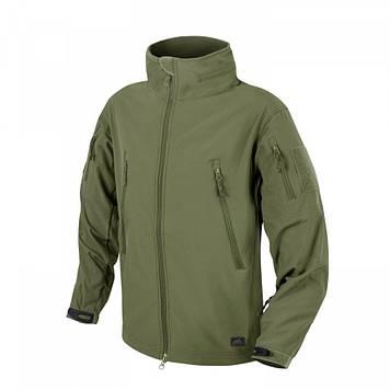 Демісезонна тактична куртка Helikon-Tex® GUNFIGHTER Windblocker® Soft Shell (оливкова)