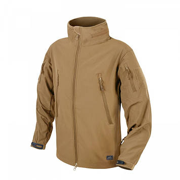 Демісезонна тактична куртка Helikon-Tex® GUNFIGHTER Windblocker® Soft Shell (коричнева)