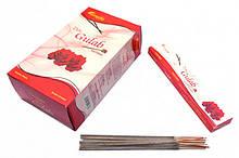 Аромапалочки Аромапалочки натуральные индийские благовония Гулаб Ароматика Aromatika Gulab 15 грамм