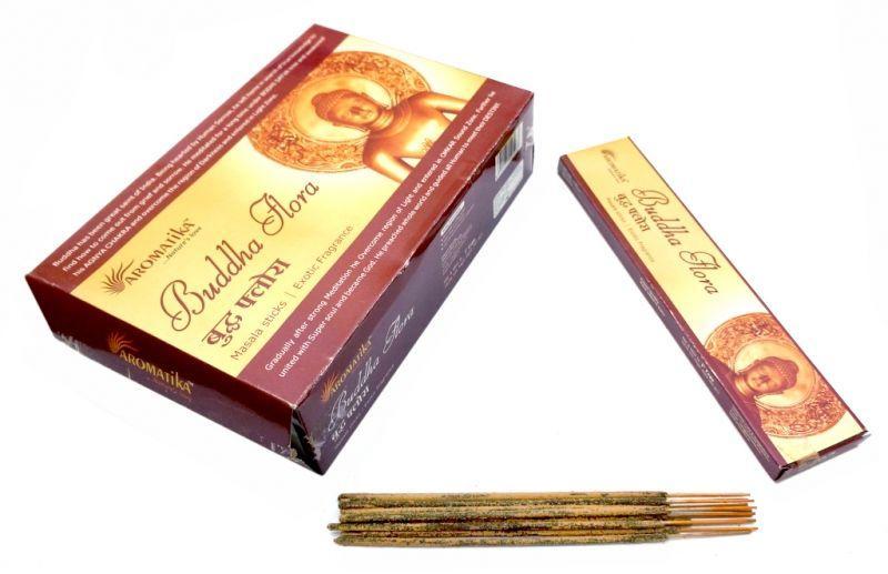 Ароматические палочки пыльцевые Будда Флора Aromatika Buddha Flora