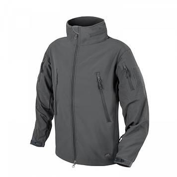 Демисезонная тактическая куртка Helikon-Tex® GUNFIGHTER Windblocker® Soft Shell (серая)