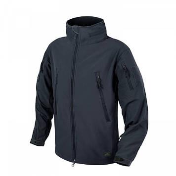 Демисезонная тактическая куртка Helikon-Tex® GUNFIGHTER Windblocker® Soft Shell (темно синяя)