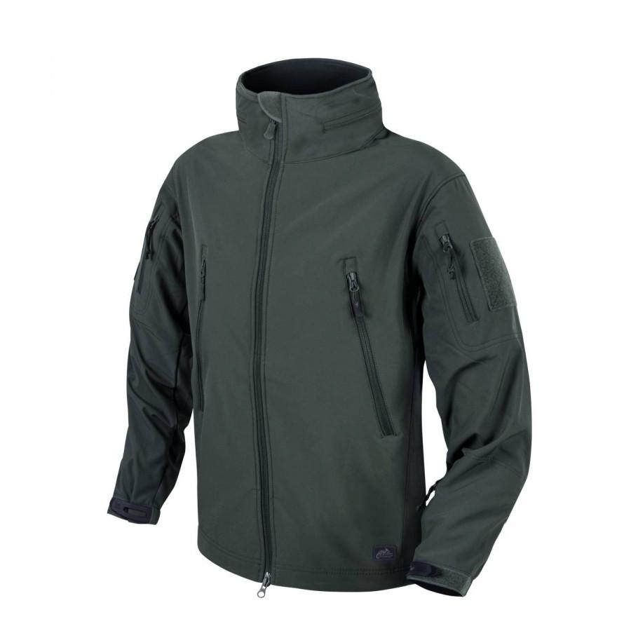 Демісезонна тактична куртка Helikon-Tex® GUNFIGHTER Windblocker® Soft Shell (зелена)