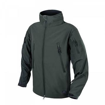 Демисезонная тактическая куртка Helikon-Tex® GUNFIGHTER Windblocker® Soft Shell (зеленная)