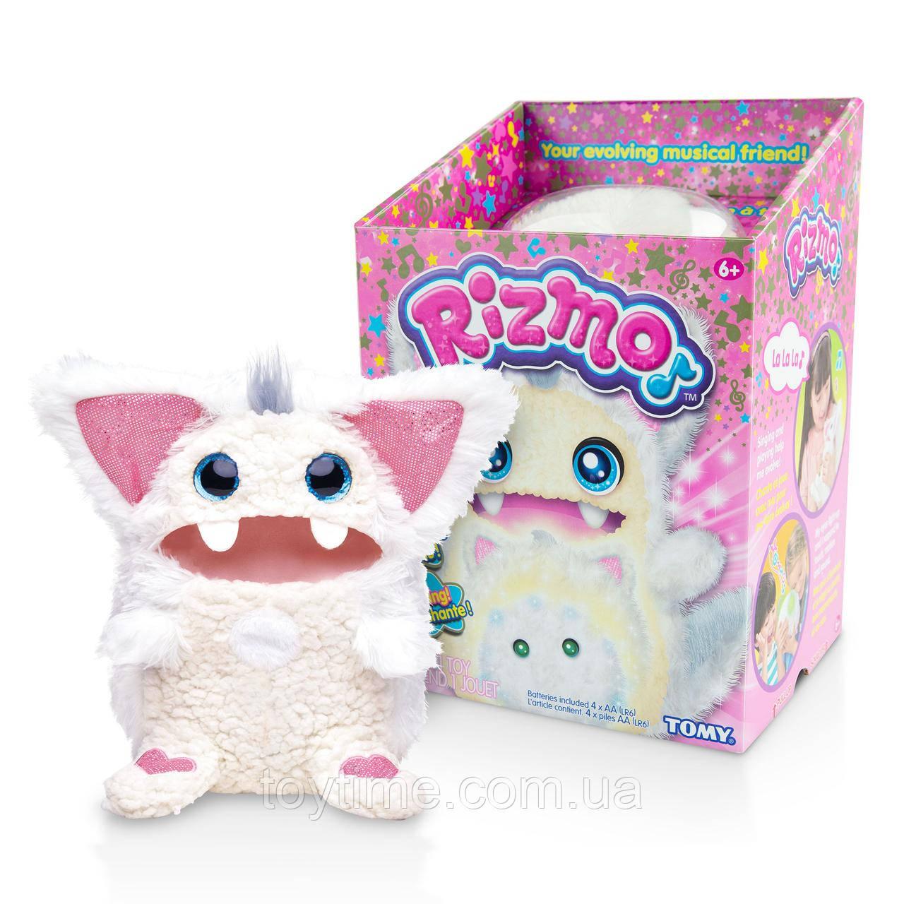 Интерактивная игрушка Ризмо Snow от Tomy (белый) / Rizmo Snow Evolving Musical Friend Interactive Plush Toy