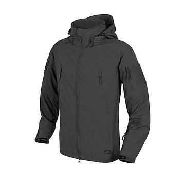 Демисезонная тактическая куртка Helikon-Tex® TROOPER Soft Shell (black)