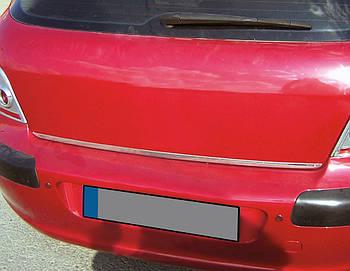 Peugeot 308 2007-2013 гг. Кромка багажника (нерж.)