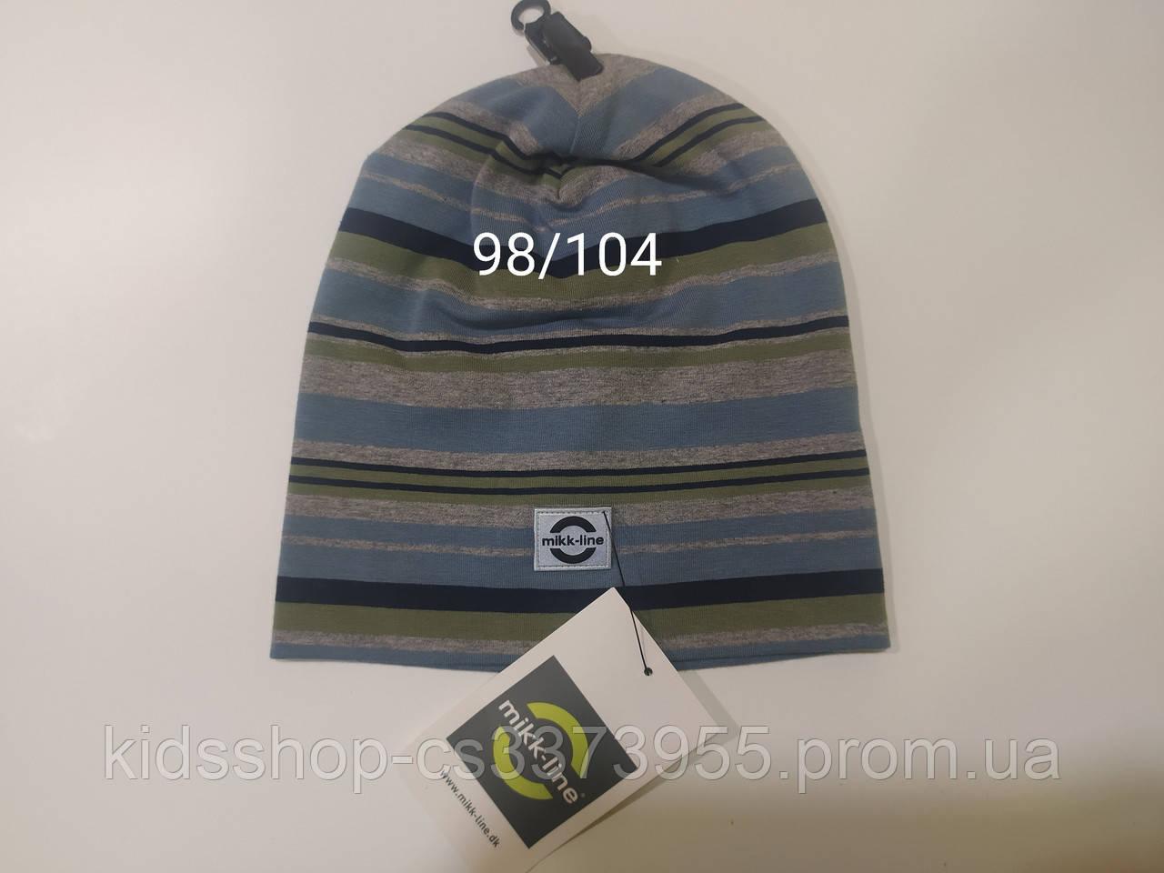 Шапка осень-зима детская размер 98/104