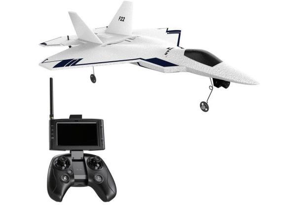 Самолет Hubsan F22 Pro FPV RTF 310 мм 2,4 & 5,8 ГГц с GPS и автопилотом