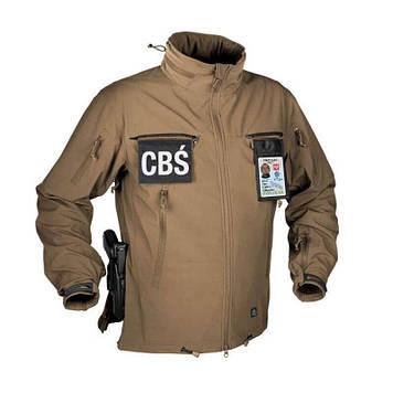 Тактическая куртка Helikon Tex ® COUGAR QSA + HID Soft Shell (коричневая)