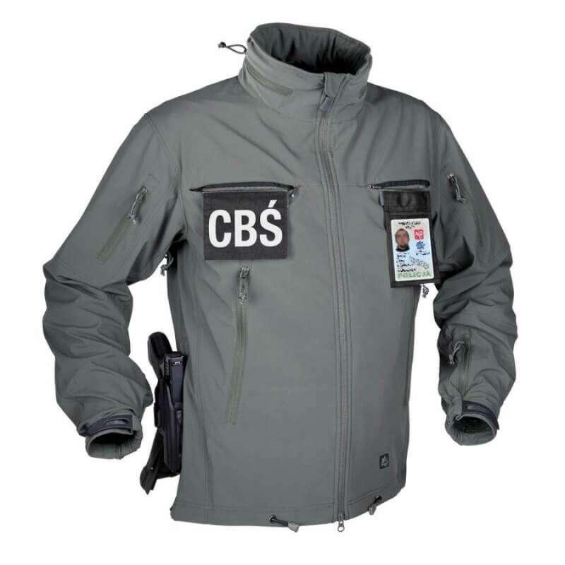 Тактическая куртка Helikon Tex ® COUGAR QSA + HID Soft Shell (серая)