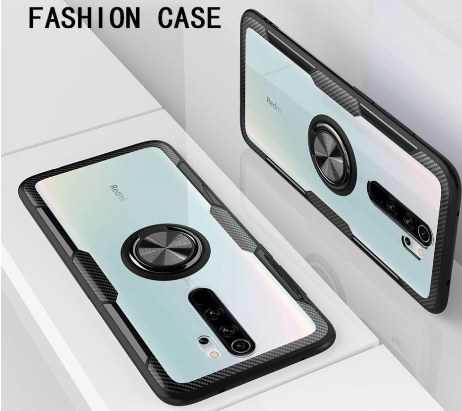 Чехол KEYSION с кольцом для  Xiaomi Redmi 9
