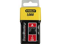 Скоба для строительного степлера 6мм Stanley 1-TRA204T