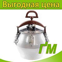 Казан полированный с ручками, 30 л., фото 1