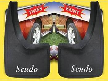 Fiat Scudo 1996-2007 гг. Брызговики (2 шт)