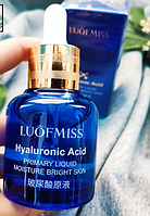 Сыворотка для лица с гиалуроновой кислотой LUOFMISS Hyaluronic Acid Primary Liquid Moisture Bright Skin