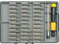 Набор бит с отвёрткой для точных робот Vorel 64371