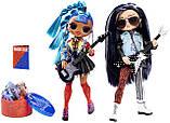 Кукольный набор LOL Surprise OMG Remix Дуэт / L.O.L. Surprise! O.M.G. Remix Rocker Boi and Punk Grrrl 2 Pack, фото 2