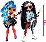 Кукольный набор LOL Surprise OMG Remix Дуэт / L.O.L. Surprise! O.M.G. Remix Rocker Boi and Punk Grrrl 2 Pack, фото 4