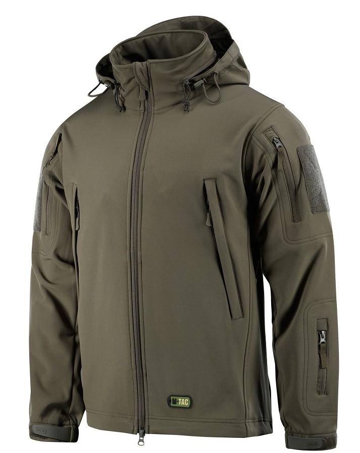 Демісезонна тактична куртка M-TAC Soft Shell (olive)