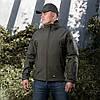 Демісезонна тактична куртка M-TAC Soft Shell (olive), фото 2