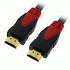 Компьютерный кабель HDMI-HDMI 2 ферит. 3м   (пакет)