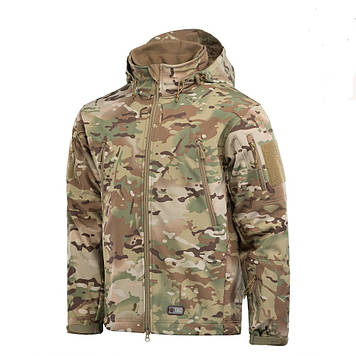 Демисезонная тактическая куртка Helikon-Tex® GUNFIGHTER Windblocker® Soft Shell (camogrom)
