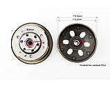 (DONGXIN) Вариатор задний к-кт Honda LEAD90 1 / 2, фото 3