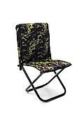 Рыбацкий стул Kospa со спинкой камуфляж