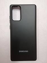 Чехол Samsung Note 20 Original Full Case Black