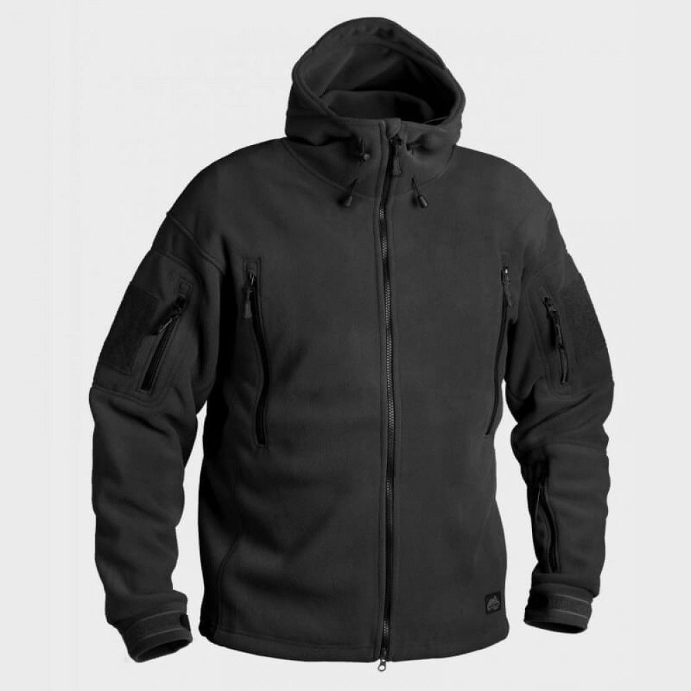Демисезонная флисовая куртка Helikon-Tex® Patriot (black)