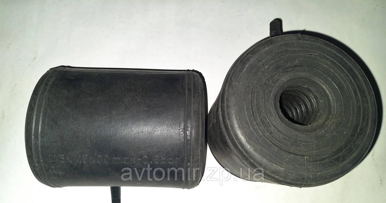 Пневмоподушки в пружину з отвором під амортизатор (стійку) наскрізні 145х115х30 Air Power